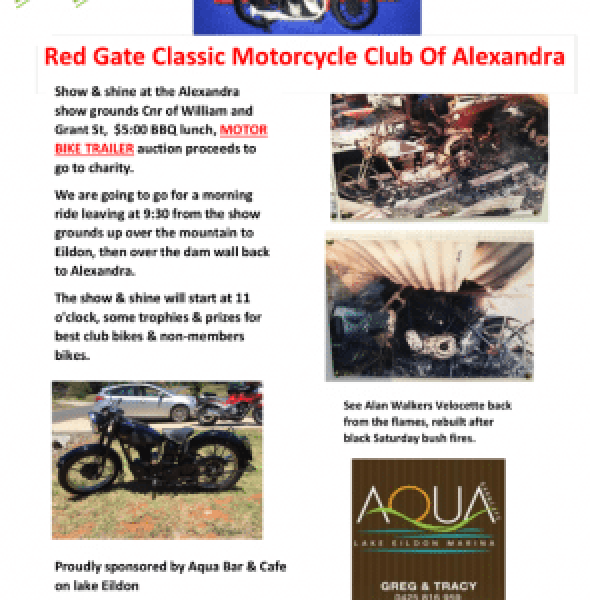 Red Gate Classic Motorcycle Club Show & Shine
